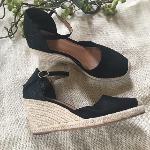 H\u0026M Shoes | Hm Black Espadrilles | Poshmark